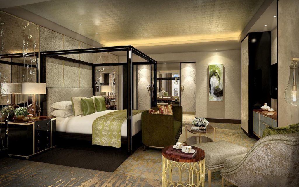 Номер в Ritz Carlton Astana
