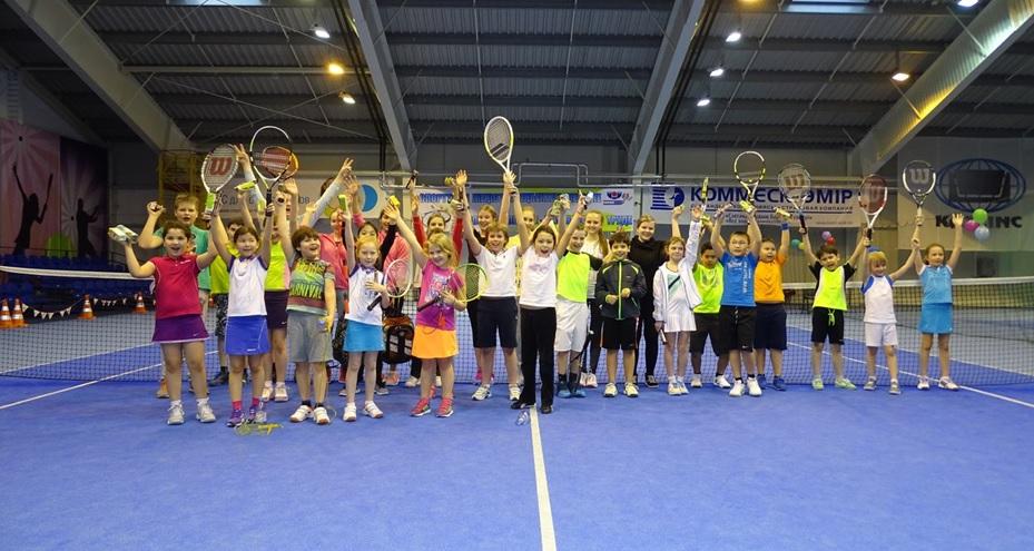 Маленькие теннисисты