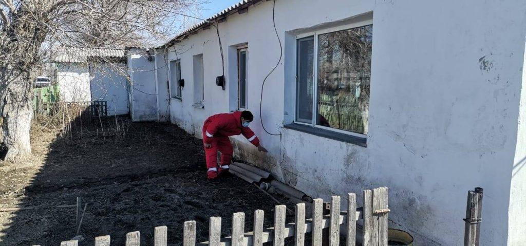 Затопленные дома