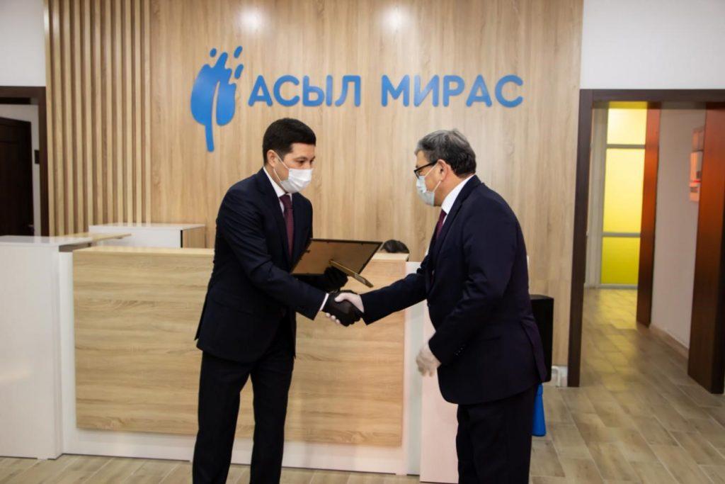 Открытие центра «Асыл Мирас» в Павлодаре
